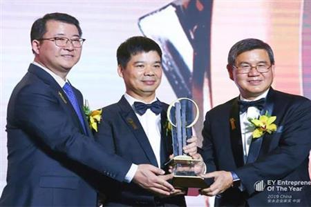 阮积祥荣获安永企业家奖2019中国大奖
