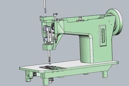 缝纫机装配原理